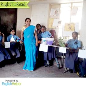 A Teacher Story From Bengaluru: Helping Students Learn English